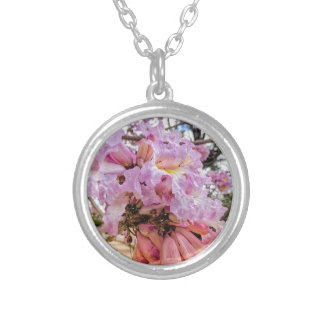 Morning Blooms Silver Plated Necklace