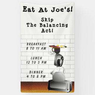 Morning Breakfast Fastfood Banner