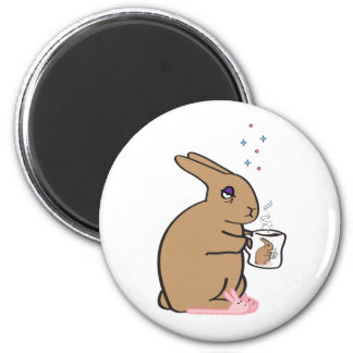 MORNING BUNNY 2 INCH ROUND MAGNET