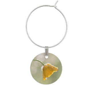Morning Buttercup Wine Charm