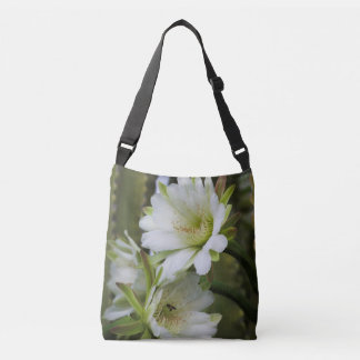 Morning Cactus Bloom Cross Body Bag