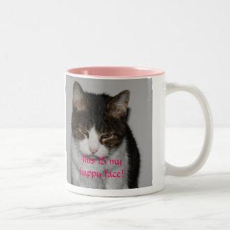 Morning Cat - personalized mug