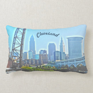 Morning Cleveland Ohio Pillow