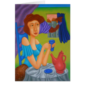 'Morning Coffee' Card
