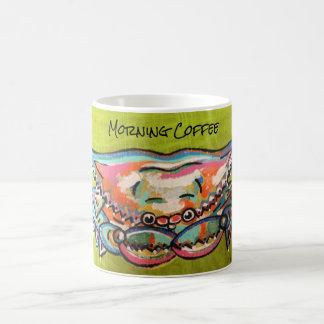 Morning Coffee Crab Mug