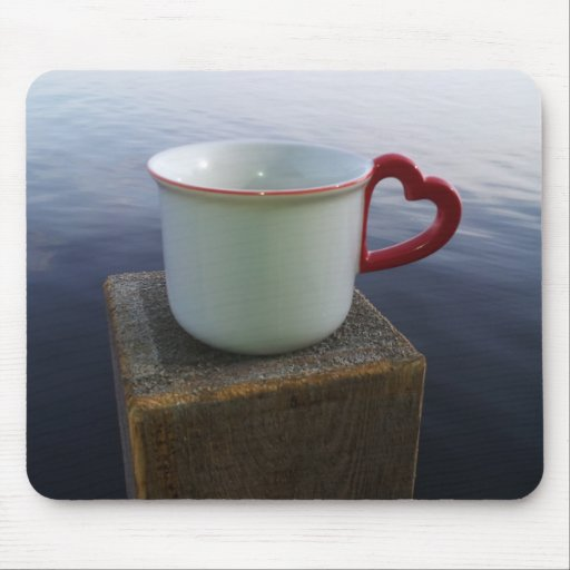Morning coffee mouse pads