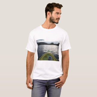 morning coffee on the water while kayaking T-Shirt