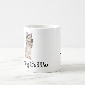 Morning Cuddles Kitten Coffee Mug