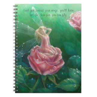 Morning Dew notebook by Lynne Bellchamber