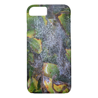 Morning Dew On Spider Web iPhone 7 Case