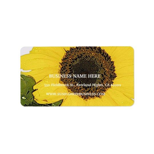 Morning Dew Sunflower
