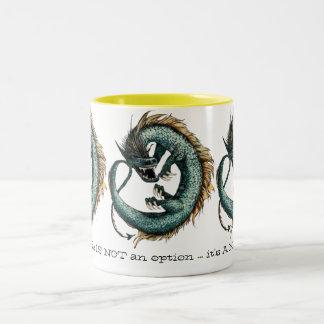 Morning Dragon Fantasy Mug