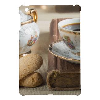 Morning espresso and cookies savoiardi iPad mini cover
