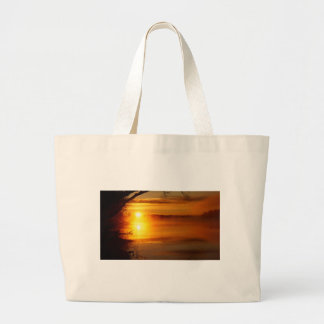 Morning Fire Large Tote Bag