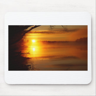 Morning Fire Mouse Pad