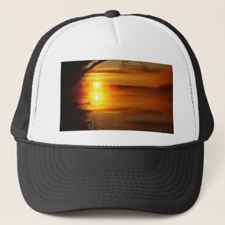 Morning Fire Trucker Hat