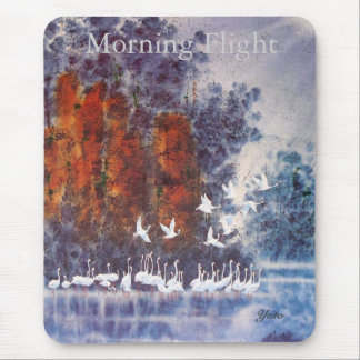 morning flight mouse pad