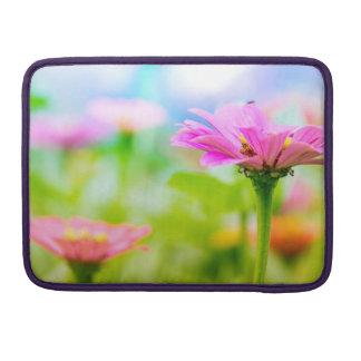 Morning flowers sleeve for MacBooks