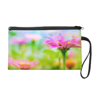 Morning flowers wristlet