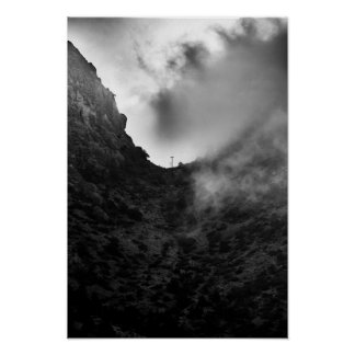 Morning Fog at Big Bend Poster