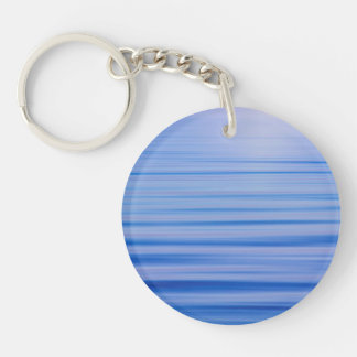 Morning Fog Lifts from Hood Canal | Seabeck, WA Keychain