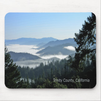 Morning fog over the valley... mouse pad