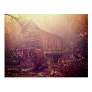 Morning Fog Postcard