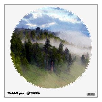 Morning Fog Wall Sticker