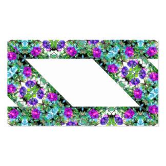 Morning Glories Flowery Gardening Business Card 2