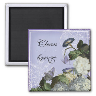 Morning Glory Clean Dirty Dishwasher Magnet