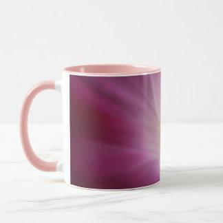 Morning Glory Delicate Pink Flower Closeup Mug