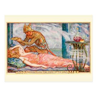 Morning Glory Fairy of the Dawn Postcard