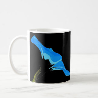 Morning Glory Flower Art Coffee Mug