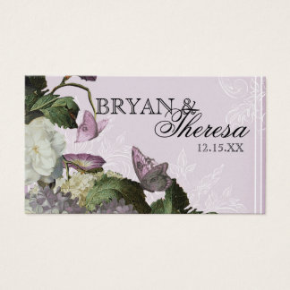 Morning Glory Hydrangea - Reception Seating Cards
