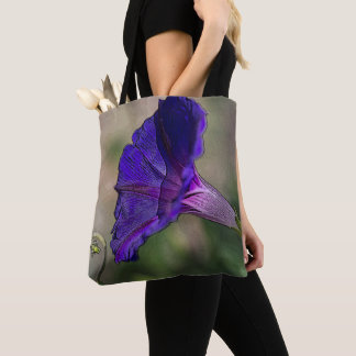 Morning Glory Tote Bag - Flower Fashion Bag
