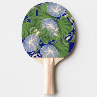 Morning Glory Vine Flowers Floral Paddle Ping-Pong Paddle