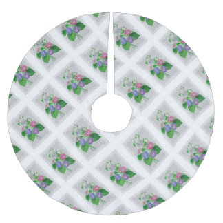 Morning Glory Vintage Bouquet Brushed Polyester Tree Skirt