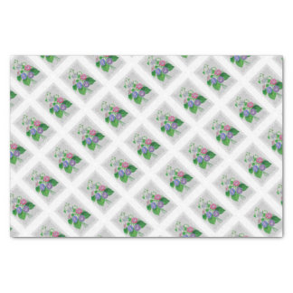 Morning Glory Vintage Bouquet Tissue Paper