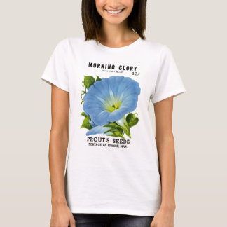 Morning Glory Vintage Seed Packet T-Shirt