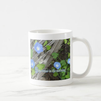 Morning Glory Watercolor Coffee Mug