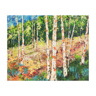"""Morning Grove"" Canvas Print"