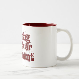 Morning hangover treatment Two-Tone coffee mug