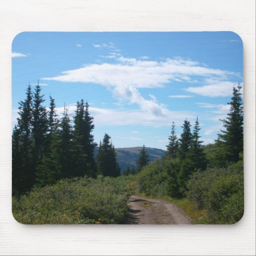 Morning Hike Mouse Pads
