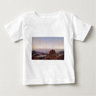 Morning in Riesengebirge - Caspar David Friedrich Baby T-Shirt