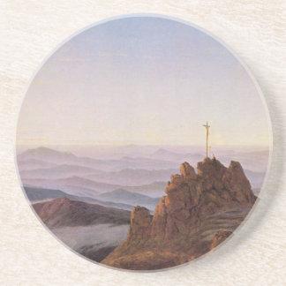 Morning in Riesengebirge - Caspar David Friedrich Coaster