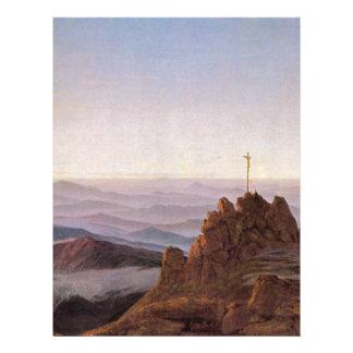 Morning in Riesengebirge - Caspar David Friedrich Letterhead