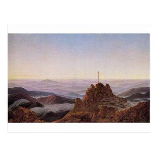 Morning in Riesengebirge - Caspar David Friedrich Postcard