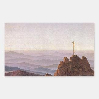 Morning in Riesengebirge - Caspar David Friedrich Sticker