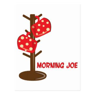 Morning Joe Postcard