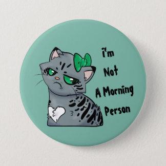 Morning Kitty Makenzee Button